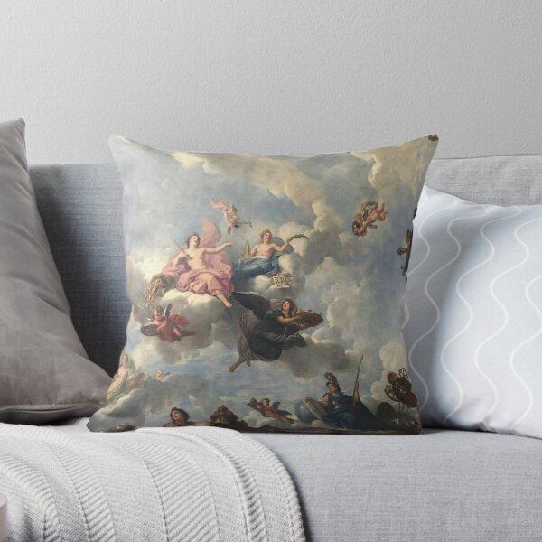 Aesthetic Renaissance Angels  Throw Pillow