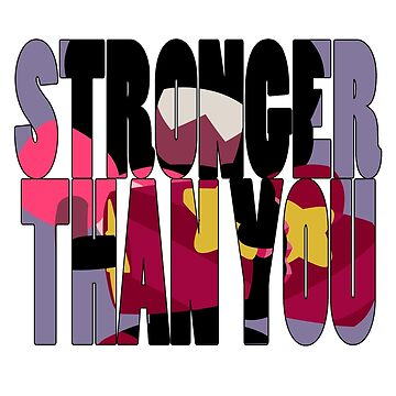 Stronger Than You by BubbleberryVII