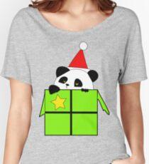 Panda noel Women's Relaxed Fit T-Shirt