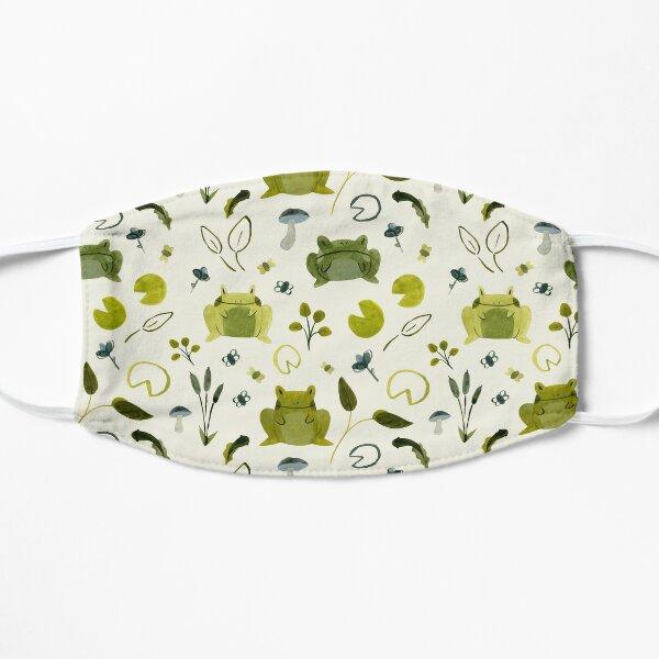 Froggy Friend Pattern (Light) Flat Mask