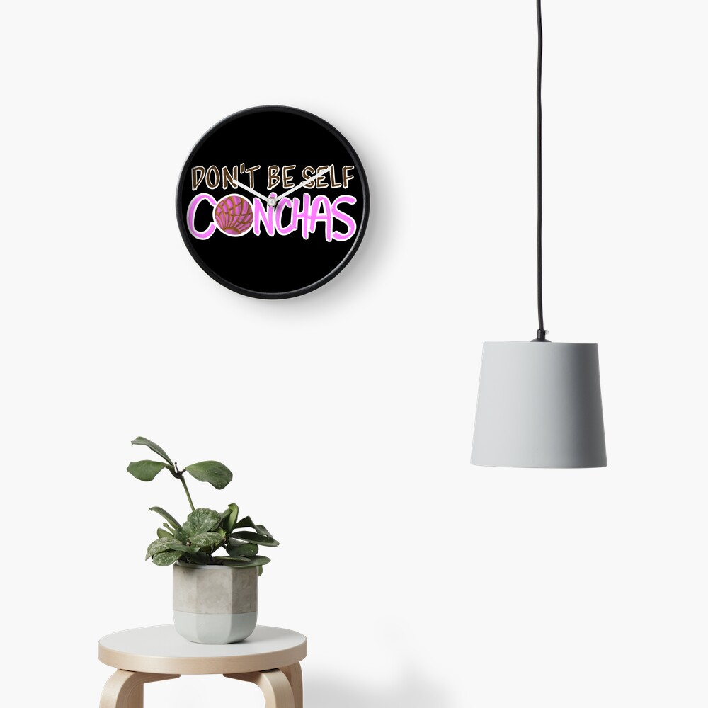 Don't Be Self Conchas Clock
