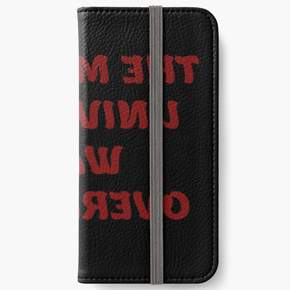 Cheers from the Mirror Universe  iPhone Wallet