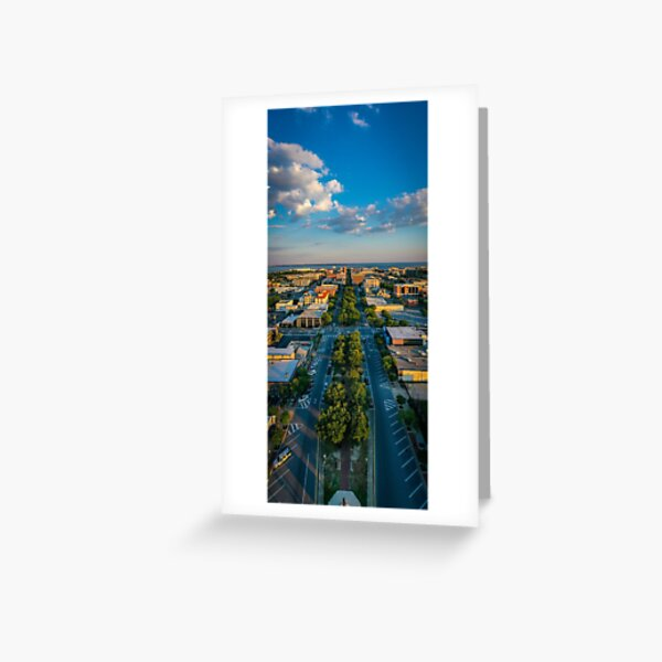 Downtown Pensacola Wright St. Greeting Card