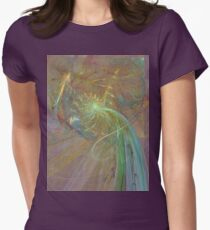 Fractal Fireworks #1 Womens Fitted T-Shirt
