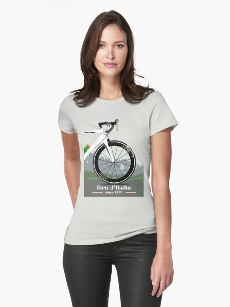 GIRO D'ITALIA BIKE Womens T-Shirt Front