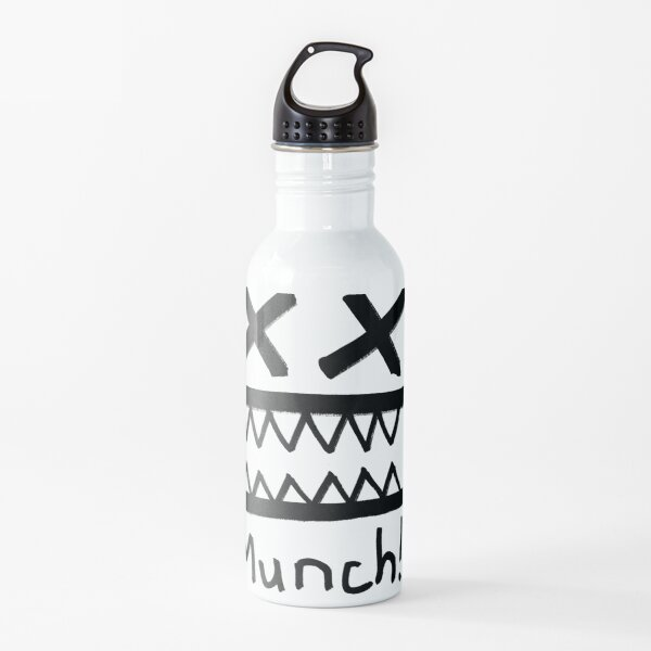 Munch, the silly face Water Bottle