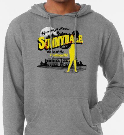 Saludos desde Sunnydale Sudadera con capucha ligera