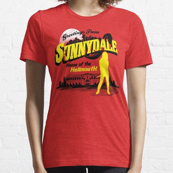 Salutations de Sunnydale T-shirt essentiel
