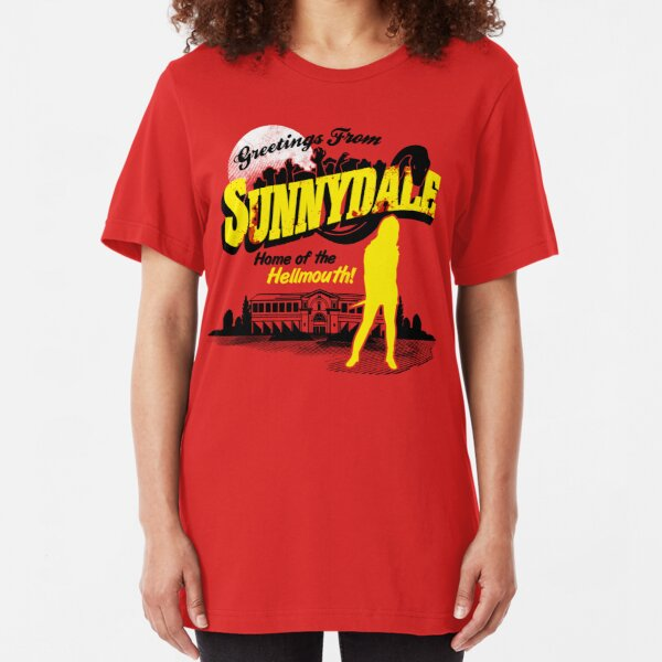 Greetings from Sunnydale  Slim Fit T-Shirt
