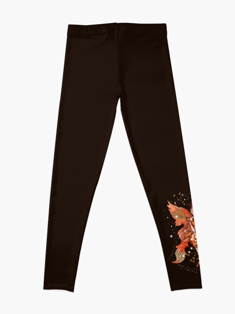 Alternate view of Faylin The Thanksgiving/Fall Fairy™ Leggings