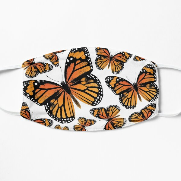 Monarch Butterflies | Monarch Butterfly | Vintage Butterflies | Butterfly Patterns |  Flat Mask