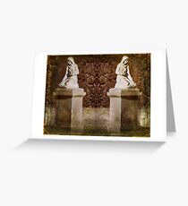 Weeping Maidens Greeting Card