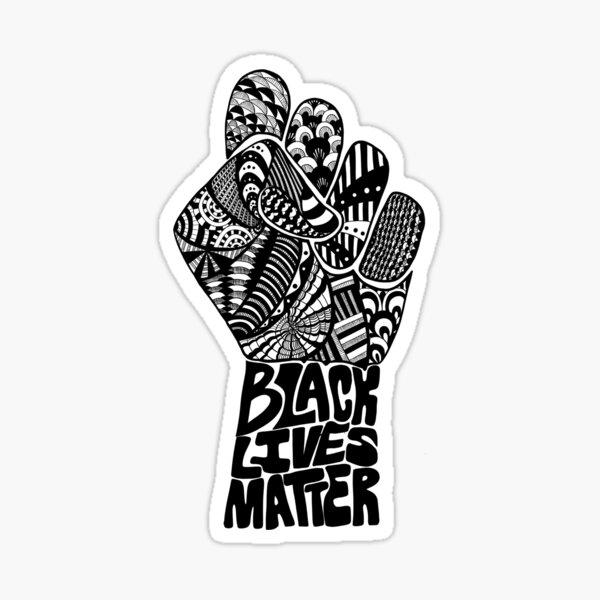 Black Lives Matter - B Sticker