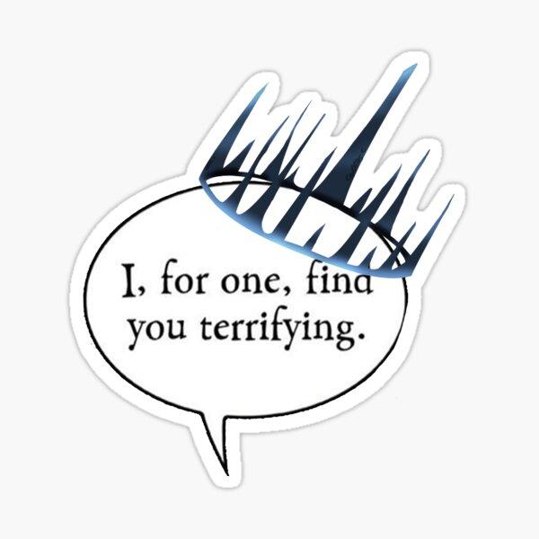 Terrifying Sticker