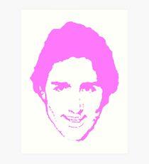 Trudeau Pretty in Pink Art Print
