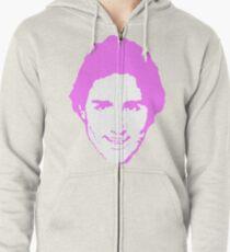 Trudeau Pretty in Pink Zipped Hoodie