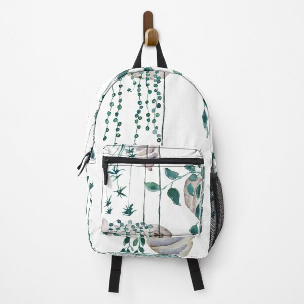 Hanging plants in seashells  Backpack