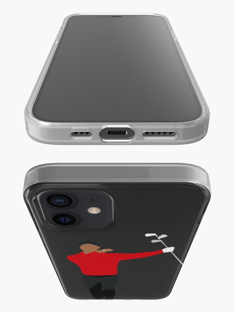 Alternate view of TIGER WOODS CLUB TWIRL | SUNDAY RED GOLFER iPhone Case & Cover