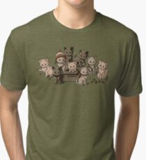 We Aim to Misbehave Tri-blend T-Shirt