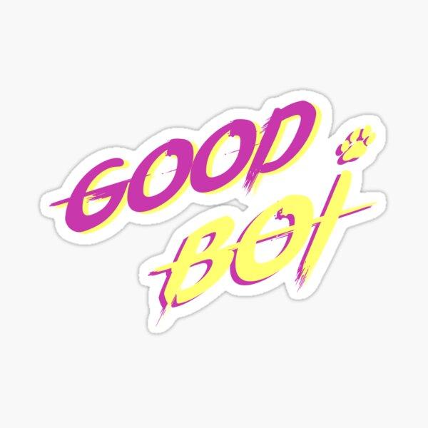 Gute Boi Vaporwave Sticker