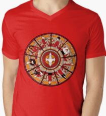 Cathedral of the Serenity Men's V-Neck T-Shirt