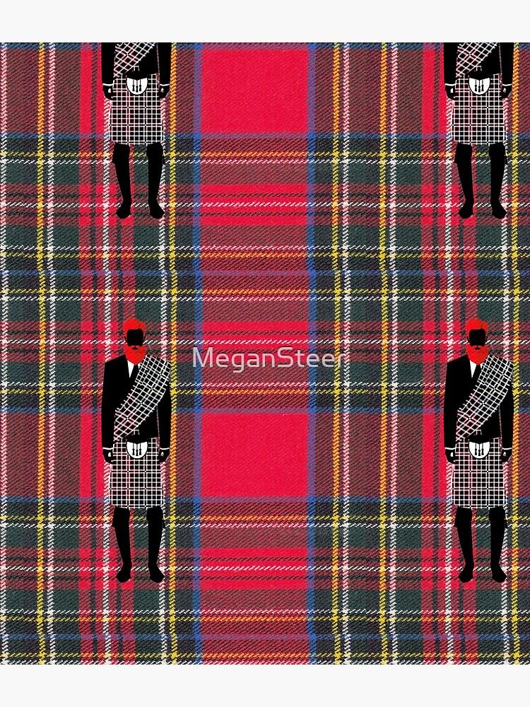 The Gentleman - Stewart Tartan by MeganSteer