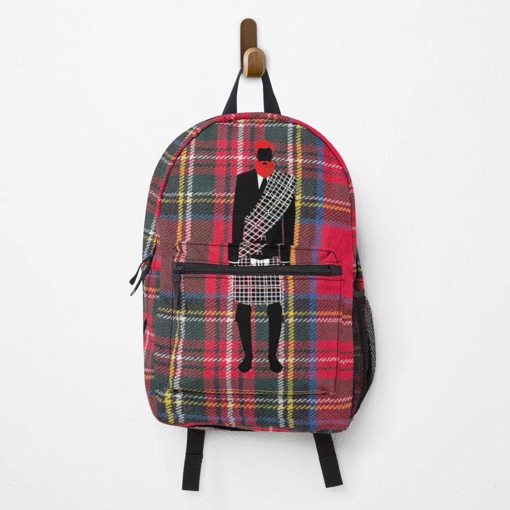 The Gentleman - Stewart Tartan Backpack