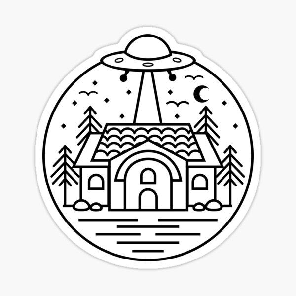 Aliens Exist Sticker