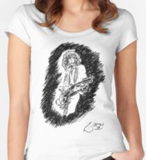 sir Jimmy Page Women's Fitted Scoop T-Shirt