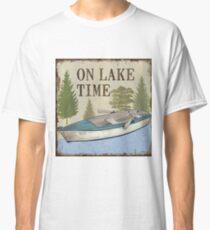 On Lake Time 1 Classic T-Shirt