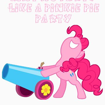 Pinkie Pie Party by damorrison