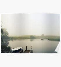 Morning Mist on the Daintree River Poster
