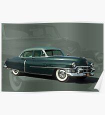 1953 Cadillac Sedan deVille Poster