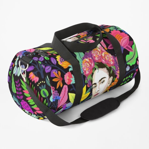 Frida in Bloom Duffle Bag