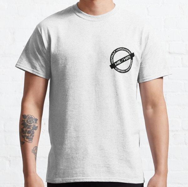 Gender Stamp - Default Hardware - He/Him Classic T-Shirt