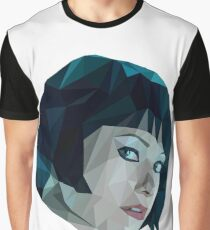 Quorra - TRON Legacy | Olivia Wilde Low Poly Graphic T-Shirt