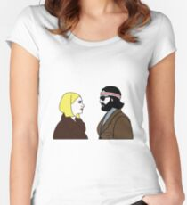 The Royal Tenenbaums Women's Fitted Scoop T-Shirt
