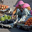 Fruit Lady by phil decocco