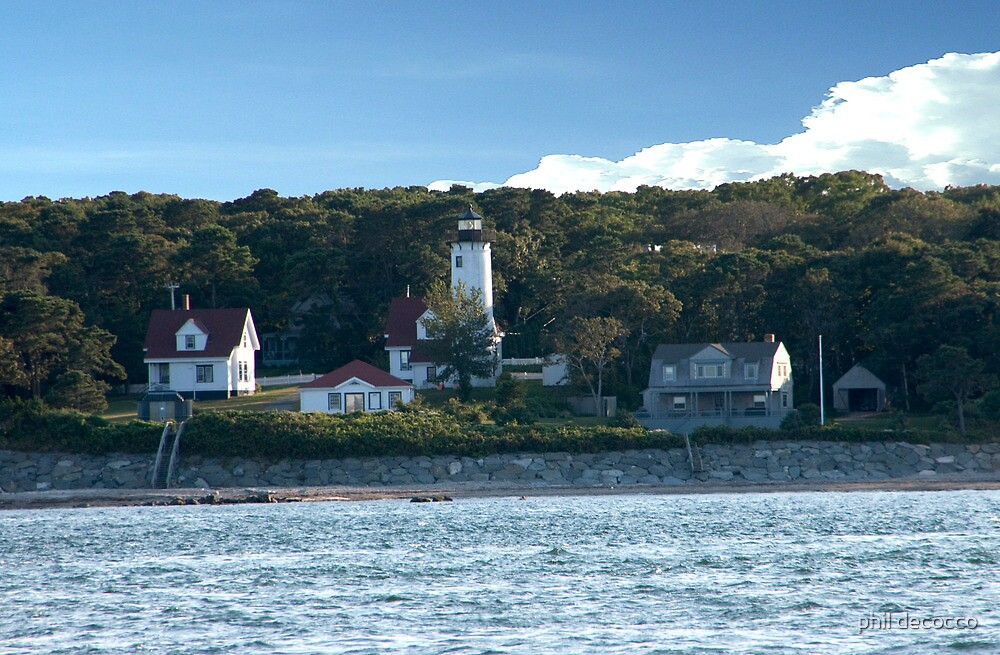 East Chop Light by phil decocco