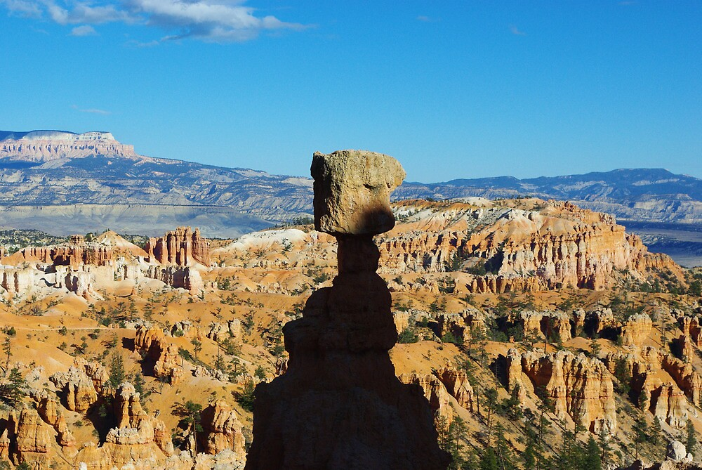 Thor's Hammer, Bryce Canyon, Utah by Claudio Del Luongo