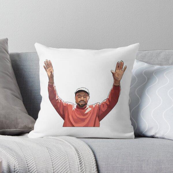Kanye Throw Pillow