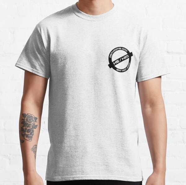 Gender Stamp - Hot Chip - He/Him Classic T-Shirt