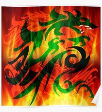 DRAGON RAMPANT Poster