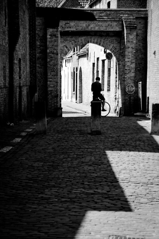 Lonely Cyclist by antmason