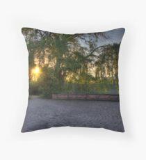 Neckar Tree Throw Pillow