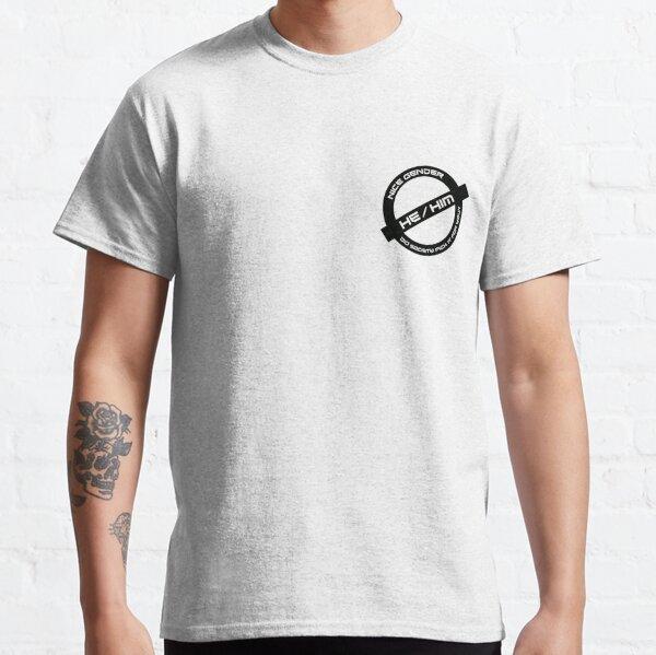 Gender Stamp - Nice Gender - He/Him Classic T-Shirt