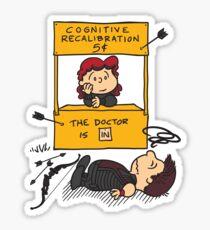 Cognitive Recalibration Sticker