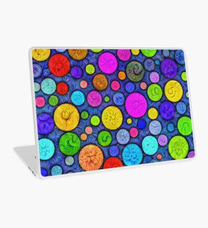 #DeepDream Color Circles Visual Areas 5x5K v1448629304 Laptop Skin