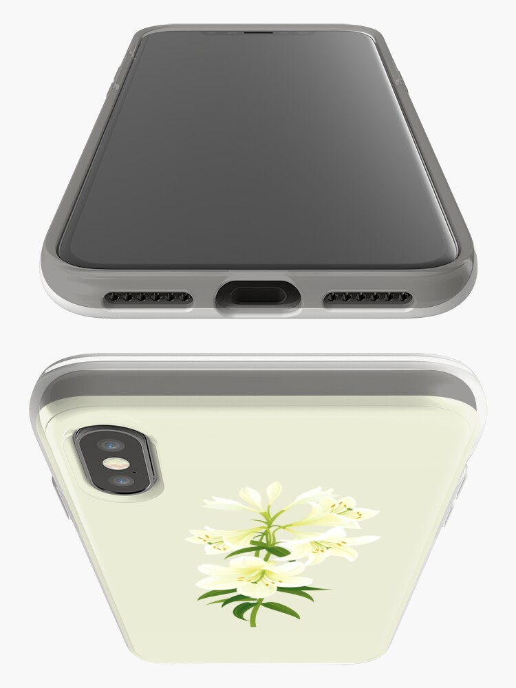 Alternate view of White Lily iPhone Case & Cover