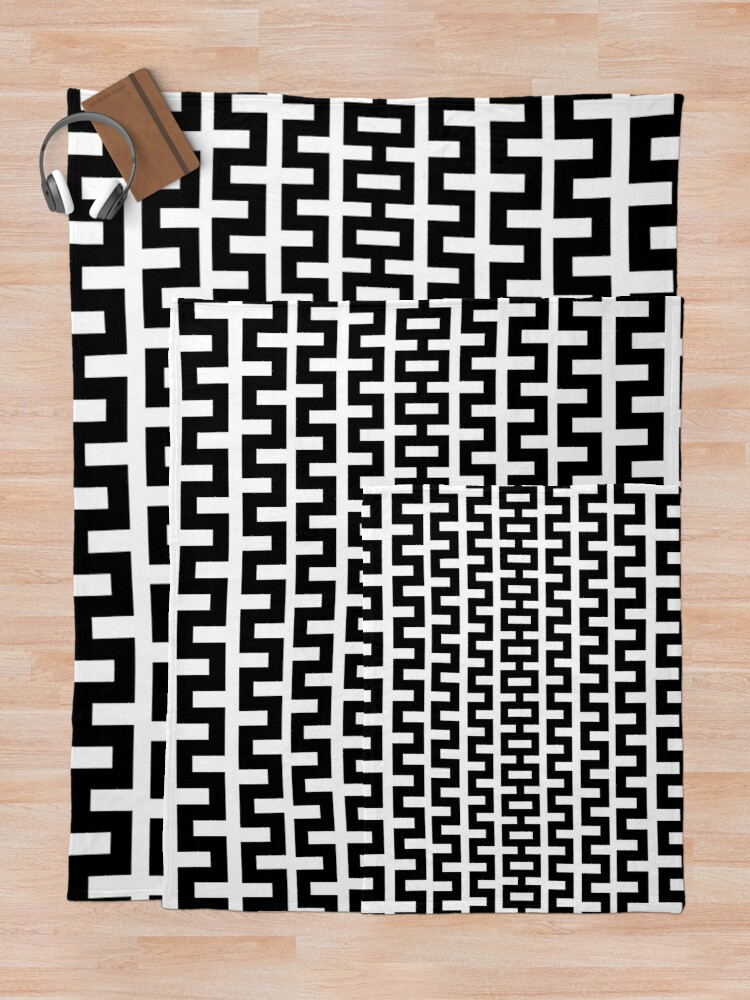 Alternate view of Tunnel Throw Blanket